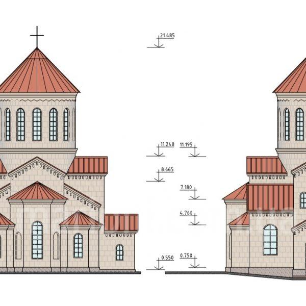 Грузинская церковь на Ласточкина, Киев.