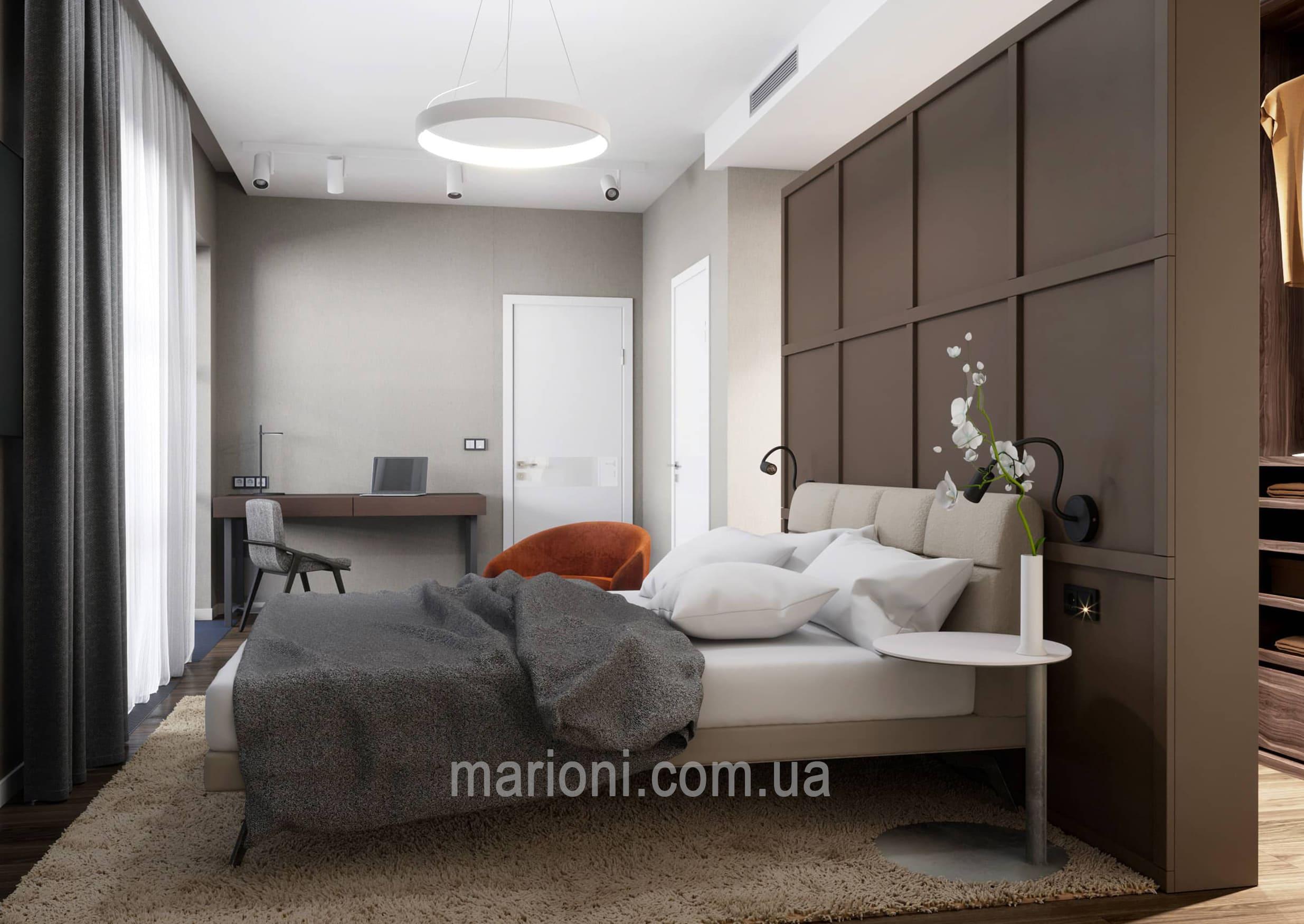 Изображение к проекту Дизайн интерьера 3- комнатной квартиры в жилом комплексе в пгт.Козин